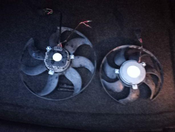 Крыльчатка вентилятора рабочая Passat B7
