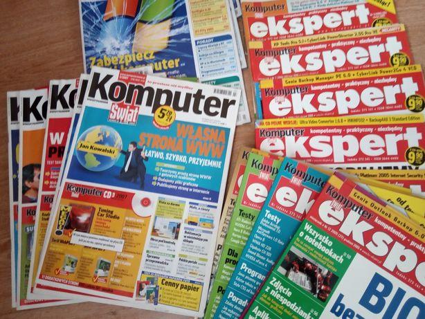 Gazety komputer świat i inne