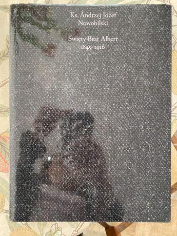 Święty brat Albert Album malarstwa z komentarzem