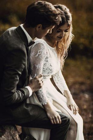 Piękna Suknia ślubna 3w1