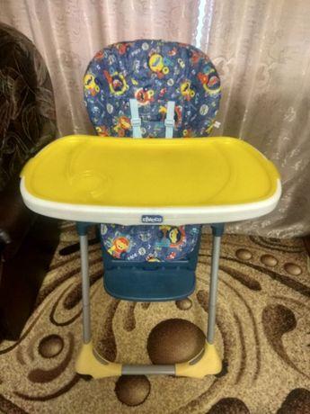 Стульчик для кормления Chicco Polly 2в1 (кресло, столик, стул,шезлонг)