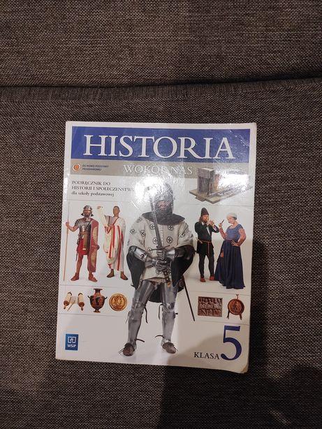 Podręcznik Historia wokół nas Klasa 5