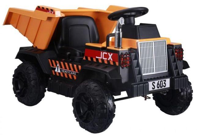 Auto na akumulator JCX Truck Żółty
