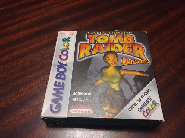 Tomb Raider - Curse Of The Sword - Gameboy Color - Como novo