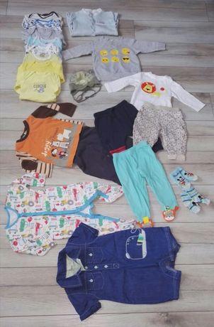 Paka dla chlopaka ubranka dla dziecka  68-80