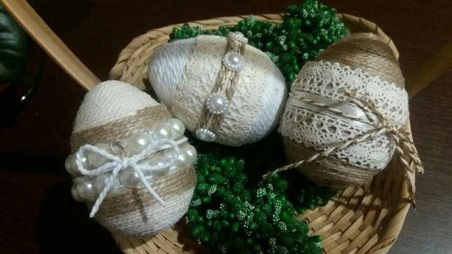Пасхальные яйца ручной работы, писанки ,пасхальный декор