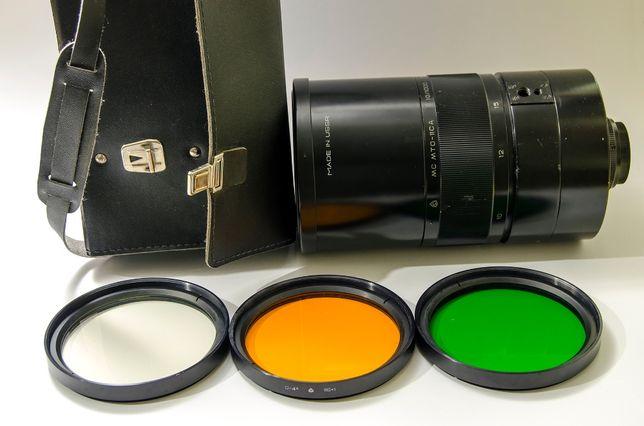 Зеркально-линзовый объектив МС МТО 11 СА 1000 мм f10 (аналог МТО 1000)