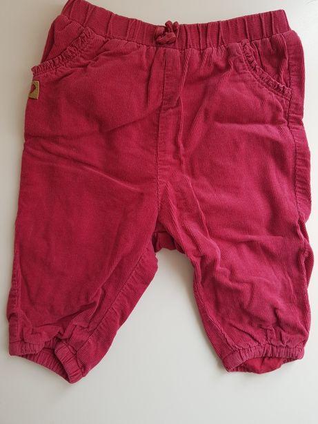 Spodnie bawełniane H&M. Rozmiar 68 cm, 3-6 msc
