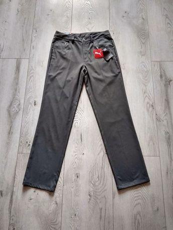 męskie spodnie marki PUMA roz. W30 L32 nowe chinosy golfowe S/M