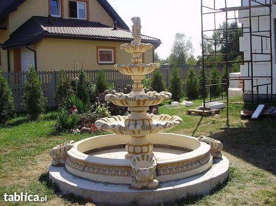 Piękna Fontanna ogrodowa DOSTAWA I POMPA GRATIS