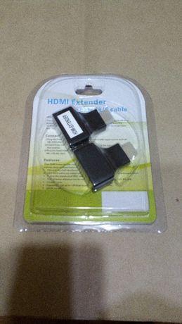 extensor de sinais HDMI por cabo de rede