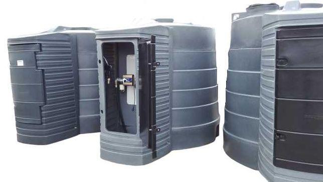 Zbiornik dwupłaszczowy na paliwo paliwa  5000L LEASING