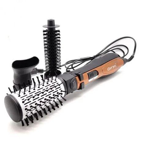 Фен стайлер браш для волос 3 в 1 GEMEI GM-4828 в наличии