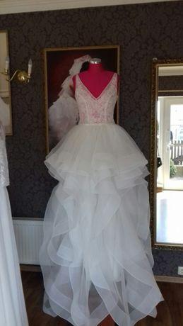 Princessa suknia ślubna 36 38 lekka biała jak mori lee