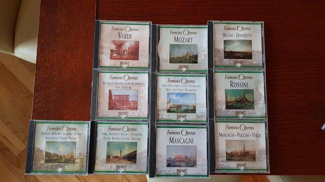 10 płyt CD z muzyką Klasyczną - PRZESYŁKA GRATIS!!
