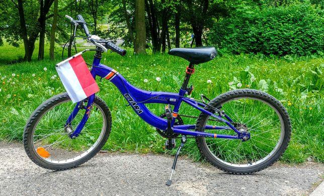 "Rower rowerek dla chłopca 20"" cali Utara Hilly"