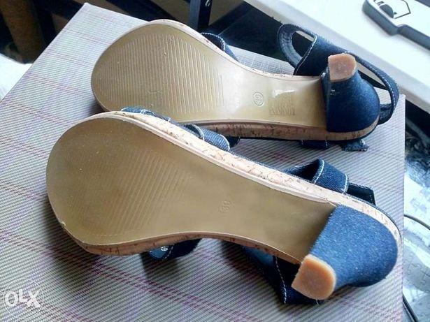 Buty szpilki sandały