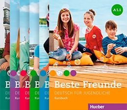 Beste Freunde A1.1, A1.2, A2.1, A2.2