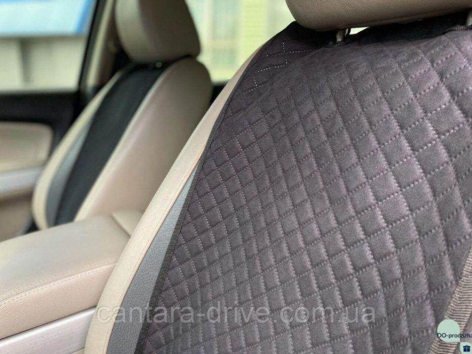 Купить Накидки на сиденья из АЛЬКАНТАРЫ в авто, Цвет - Черный Николаев - изображение 1
