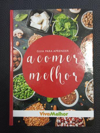 Livro guia para aprender a comer melhor