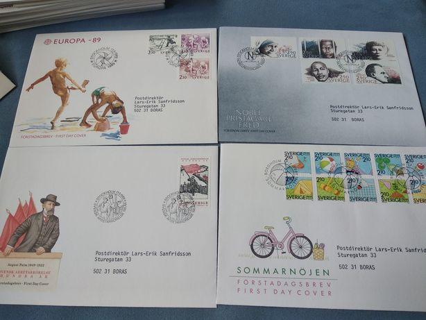 Коллекция юбилейных конвертов Швеции
