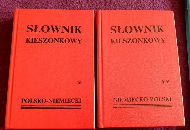 Słownik kieszonkowy polsko-niemiecki i niemiecko-polski