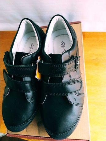 Школьные туфли для девочки D.D.Step 34 р. натуральная кожа ддстеп