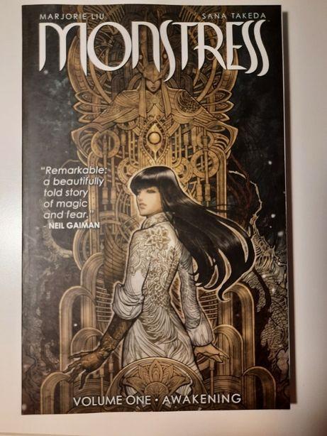Monstress tom 1, oryginalne wydanie amerykańskie
