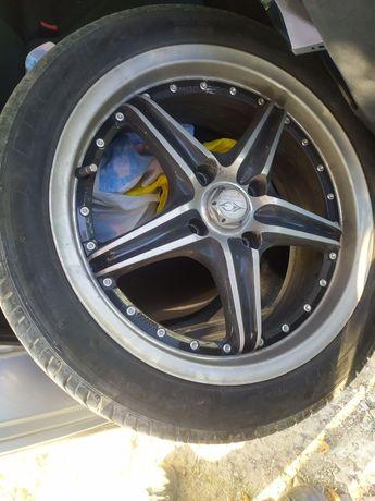 Диски R17 4х114, колеса R17 215x45xR17 Mitsubishi Lancer, Galant Honda