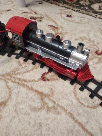 Железная дорога на пульту