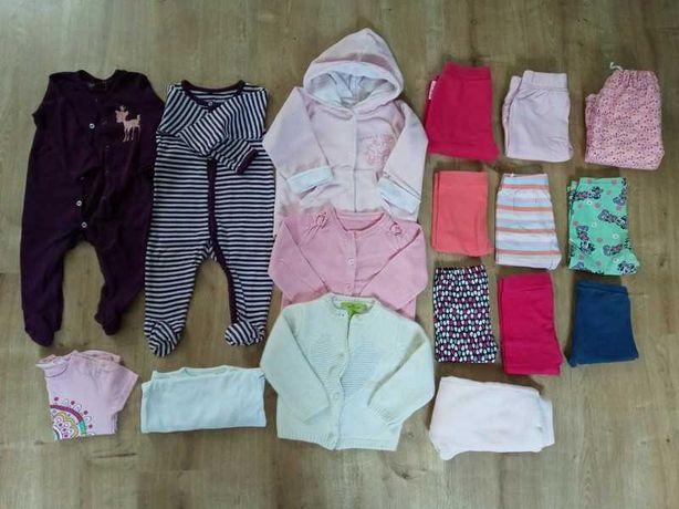 Zestaw ubrań dla dziewczynki 68/74