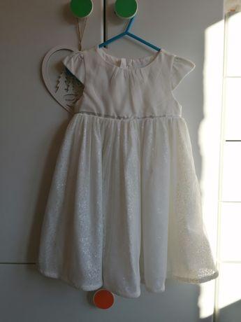 Sukienka ecru 98
