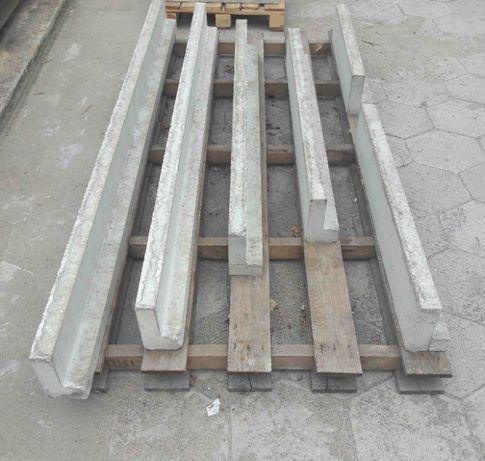 Nadproża betonowe L-19, Producent, różne długości CENA BRUTTO