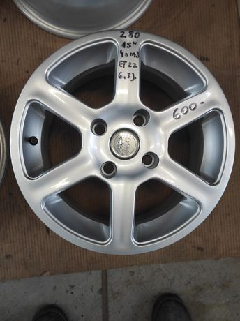 280 Felgi aluminiowe 4x114,3 R 15 Bardzo Ładne Volvo V40Mitsubishi