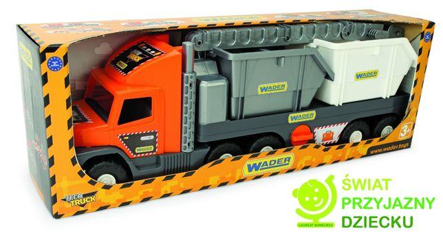 Wader Auto Super Tech Truck laweta z HDSem