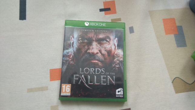 Gra lords of frallen limited edition xbox one