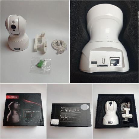 KAMTRON 826 Kamera WIFI IP, LAN, Monitoring, Niania - Biała