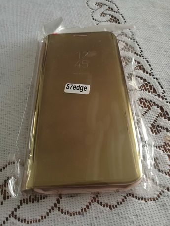 Inteligentne etui   do Samsung Galaxy s7 edge +szkło 9h