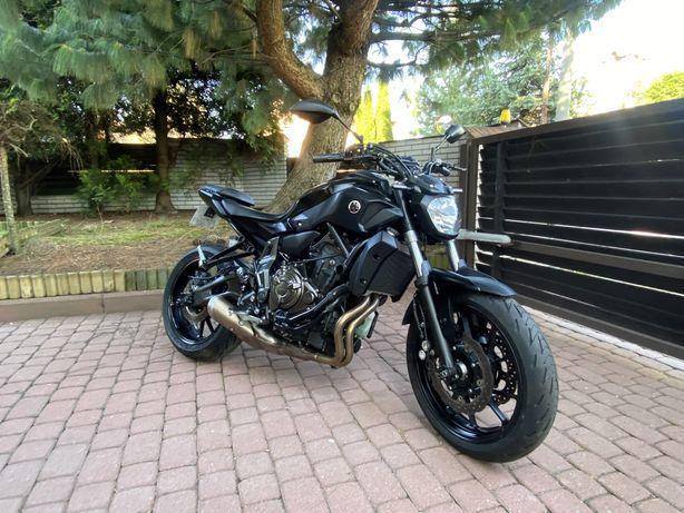 Yamaha MT07 MT 07 ! 2017 ! Black Tech ! ABS ! A2 ! Zadbany !