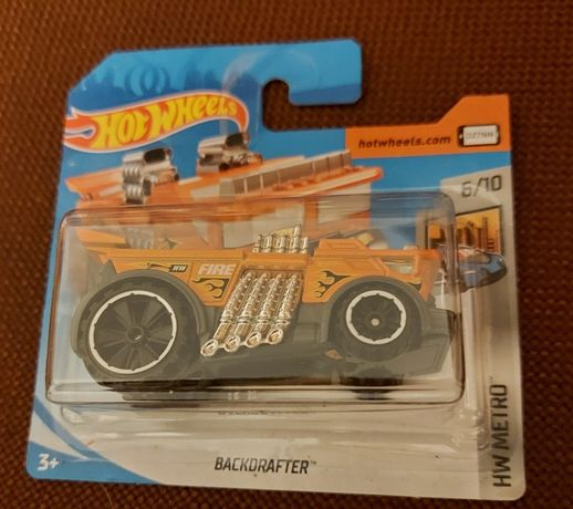 Hot Wheels - BackDrafter - HW METRO