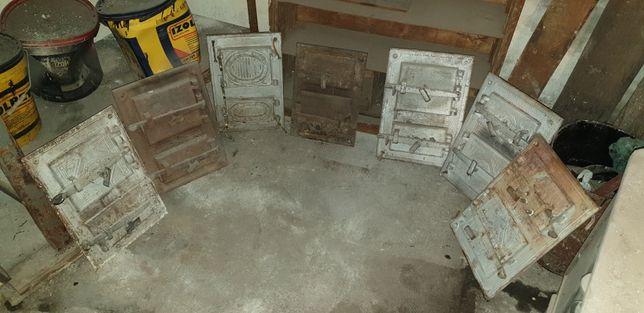 drzwiczki drzwi do pieca wędzarka wędzarnia Łódź zabytek