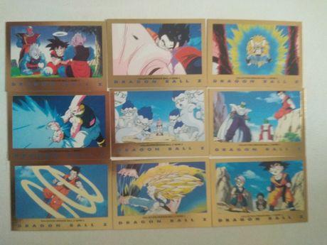 43 Carta Dragon Ball z série 3 dourado