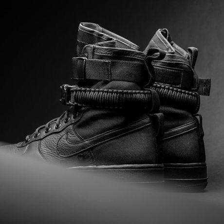 Б/У ОРИГИНАЛ Nike Air Force SF (Special Field) Triple Black