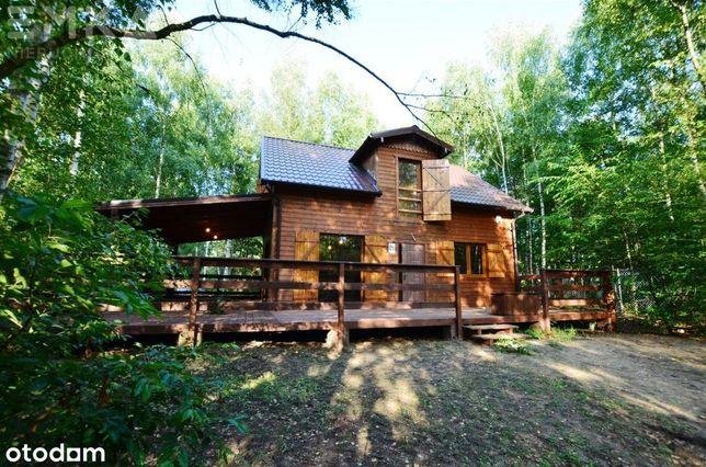 Nowy dom całoroczny w lesie Powidz/Ostrowo