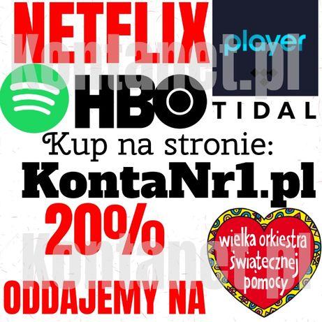 Netflix Player SPOTIFY Hbo Go Tidal 30 60 90 DNI ULTRA HD 4 PREMIUM Pr