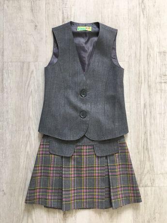Продам школьную форму Сашка 116-128 см