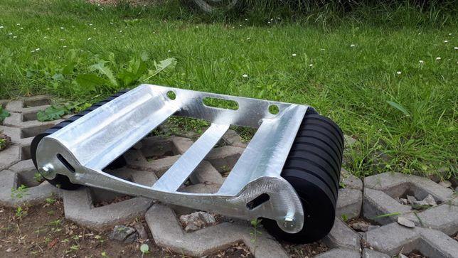 Rolka serwisowa, wózek pod urwane koło R3