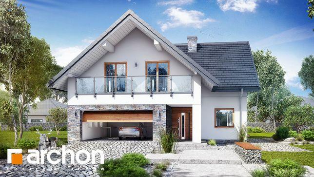 Projekt domu Dom w montbrecjach (G2) ARCHON + oczyszczalnia