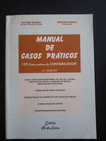 Manual de Casos Práticos de Contabilidade - 6ª Edição