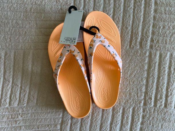 Шлепки Crocs 37 размер